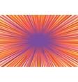 Bright burst background retro comic pop art vector image
