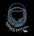 Space explore vector image
