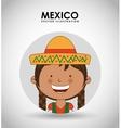 Mexican kid vector image