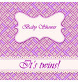 Baby-shower-abstract-background-twins-3 vector image