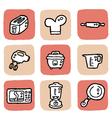 icon kitchen vector image
