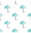 vintage umbrellas seamless pattern Cute vector image