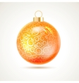 Christmas toy vector image