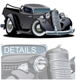 Cartoon Retro Pickup vector image vector image