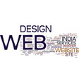 Excellent alternative for web development text vector image