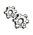 Gears Doodle vector image