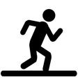 Running Men Icon vector image