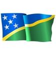 flag of Solomon Islands vector image vector image