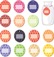fruits labels vector image