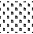 AVI file pattern simple style vector image