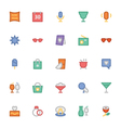 Celebration and Party Icons 6 vector image