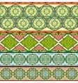 Arab patterns vector image