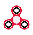 flat design icon color hand spinner vector image