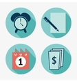 Jobs icons vector image vector image