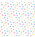 sequins confetti pattern vector image