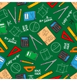 Mathematical education seamless pattern background vector image
