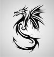Dragon Tribal vector image