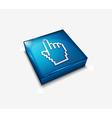 hand cursor web icon vector image