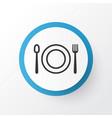 restaurant icon symbol premium quality isolated vector image
