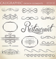 calligraphic design elements to embellish your vector image