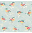 Background with birds vector image vector image
