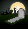 Creepy halloween design vector image