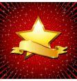 golden star vector image vector image