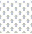 baby boy clothes pattern seamless vector image