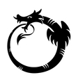Ouroboros tattoo vector image