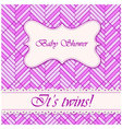Baby-shower-abstract-background-twins-4 vector image