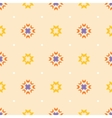 Abstract geometric seamless ornament pattern vector image