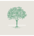 Green tree vector image