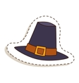 Broen hat beautiful vector image