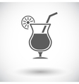 Cocktail vector image