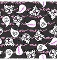 Meow kitties background vector image