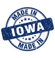 made in iowa vector image