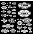 Set of design elements for sale vector image vector image