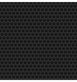 Black rubber texture vector image