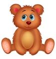 Cute baby bear cartoon vector image