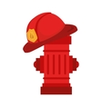 fire hydrant design vector image