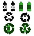 Plastic bottle recycling vector image vector image