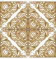 Vintage victorian seamless pattern vector image