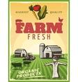 Ranch Farm Poster vector image