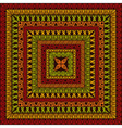 Square Ethnic Pattern vector image