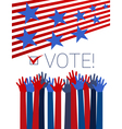 Vote conceptual vector image