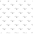 line and arrow pattern simple style vector image vector image
