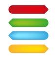 empty color tags vector image