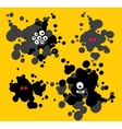 Blot monsters vector image