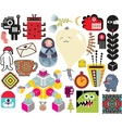 Mix of different images vol64 vector image vector image