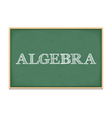 Algebra vector image vector image